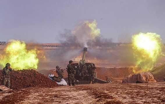 وسائل إعلام: الجيش السوري يبدأ عملية عسكرية بريف إدلب
